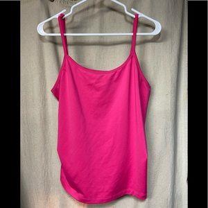 Lane Bryant Pink Cami Top